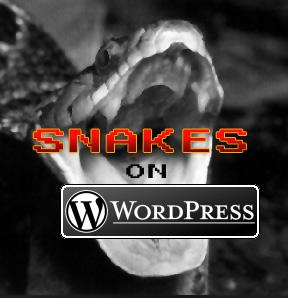 Snakes on WordPress