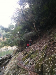 Nomihiking trail in Arashiyama